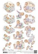 CD10684 Knipvel Vintage Baby Amy Design