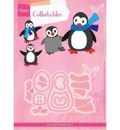 COL1416 Collectables snijmallen pinquins