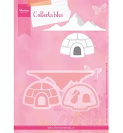 COL1417 Collectables snijmallen iglo en berg