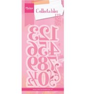 COL1418 Collectables snijmallen Elegant Numbers Marianne Design