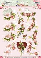 CD10800-HJ14101 Knipvel Precious Marieke Seasonal Flowers huwelijk