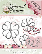PM10088 Snijmal Precious Marieke Seasonal Flowers Four Leaf Clover