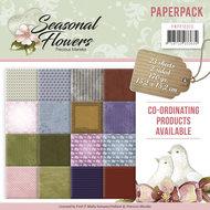 PM10013 Paperpack - Precious Marieke - Seasonal Flowers