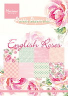PK9143 Pretty Papers bloc english roses