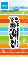 CR1393 Craftables snijmal punch die vegetable garden