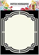 Dutch Doobadoo Dutch Shape Art frames label 2 A5  470.713.142
