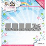 YCD10091 Snijmal Yvonne Creations - Tots and Toddlers - Train