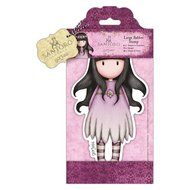 GOR907253 Gorjuss Large rubber stamps Oops-a-Daisy