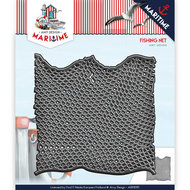 ADD10101 Snijmal Die - Amy Design - Maritime - Fishing Net