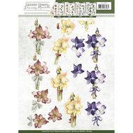 CD10857 3D Knipvel - Precious Marieke - Fantastic Flowers - Amaryllis