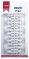 CA3132 Plakstenen - plakparels wit Marianne Design