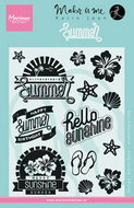 KJ1714 Clear Stamp summer Karin Joan