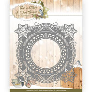 PM10097 Snijmal Precious Marieke - The nature of Christmas - Snowflake Frame
