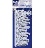 6002-0635 Snijmal Winter Wishes ijspegelrand