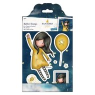 GOR 907131 Gorjuss rubber Stamps  Fly Away With Me