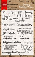 CS0996 Clearstamps Birthday Wishes