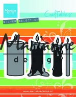 Craftables snijmallen candles set