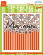 Design folder de luxe Anja's ornamental border