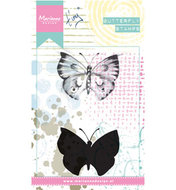 MM1613 - Cling Stamp Tiny's  butterfly 1