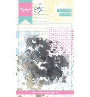 MM1615 Cling stempel Tiny's water colour
