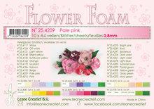 25.4209 Flower foam sheets a4 Pale pink