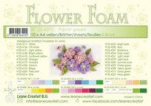 Flower foam sheets a4 Pastel green