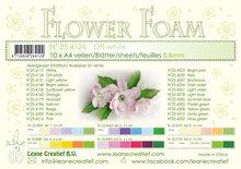 Flower foam sheets a4 Off White