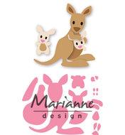 COL1446 Collectables snijmallen Eline's kangaroo & baby