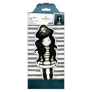 GOR 907135 Large Rubber Stamp - Gorjuss - Piracy