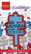 LR0535 Creatables snijmal wooden signpost