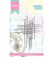 MM1624 Clear stamps Doodle stripes Marianne Design