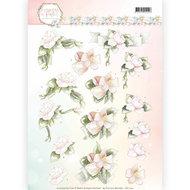 CD11142 Knipvel Precious Marieke - Flowers in Pastels - Believe in Pink