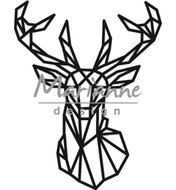 CR1445 Craftables snijmal Geometric deer