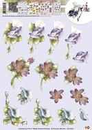 CD10337 3D Knipvel - Precious Marieke - Bloemen
