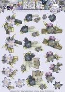 CD10378 3D Knipvel - Precious Marieke - Bloemdecoratie