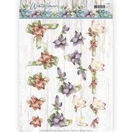 CD11190 3D knipvel - Precious Marieke - Winter Flowers - Amaryllis