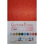 Glitterfoam A4 rood
