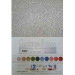 25.5237 Glitterfoam zilver