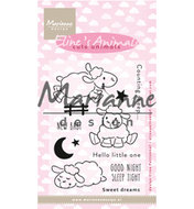EC0175 Clearstamps Eline's Cute Animals - Sheep