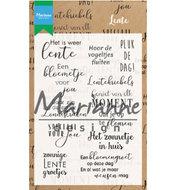 CS1022 Clear stamps Marianne Design Lente teksten