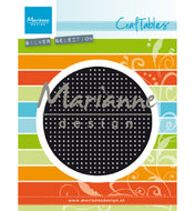 CR1465 Craftables snijmal Cross stitch circle