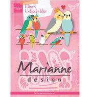 COL1465 Collectables snijmallen Eline's birds