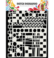 470.715.137 Dutch Doobadoo Mask Art Geo mix