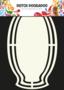 470.713.109 Shape art frame Name Plate